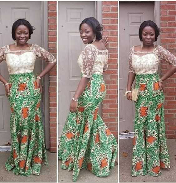 How to Wear Nigerian Lace Tops