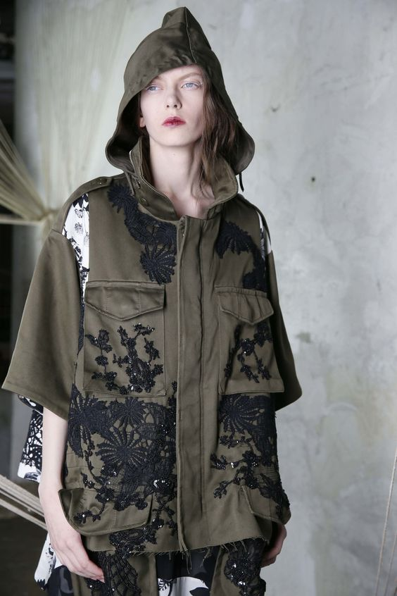 Antonio Marras Resort 2017 Fashion Show #parka #militar