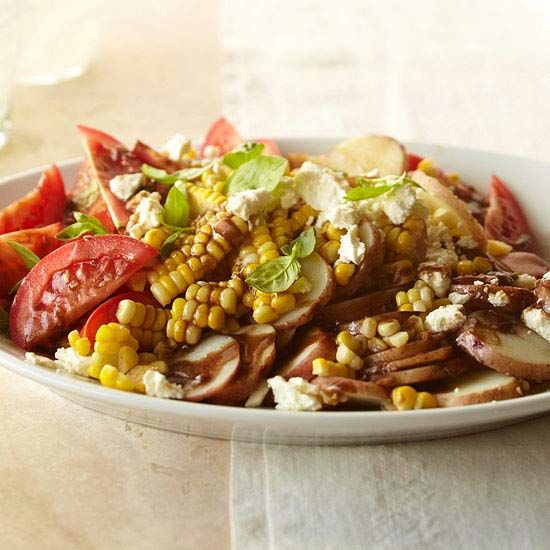 Summer Vegetable Potato Salad: Veggie Potato, Vegetable Salad, Summer Salad, Potato Salad Recipes