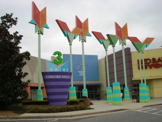Concord Mills mall, my kids could spend hours just in the Disney and ...