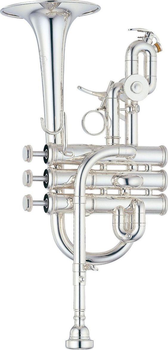 Yamaha ytr 9825 custom bb a piccolo trumpet silver finish for Piccolo prices yamaha