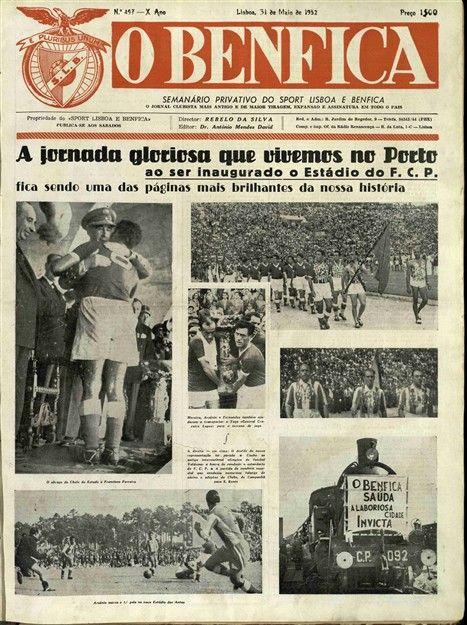 À recordação, por parte dos dragões, da vitória na inauguração do Estádio da Luz, em 1954, por 3-1, os encarnados lembraram o triunfo por 8-2 na estreia das Antas