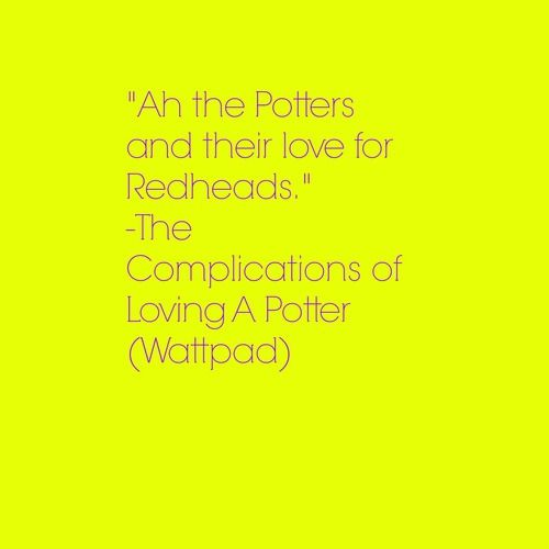 The Complications of Loving a Potter. Wattpad story