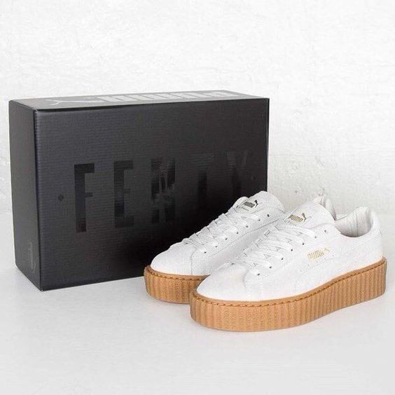 Puma Creepers White Oatmeal