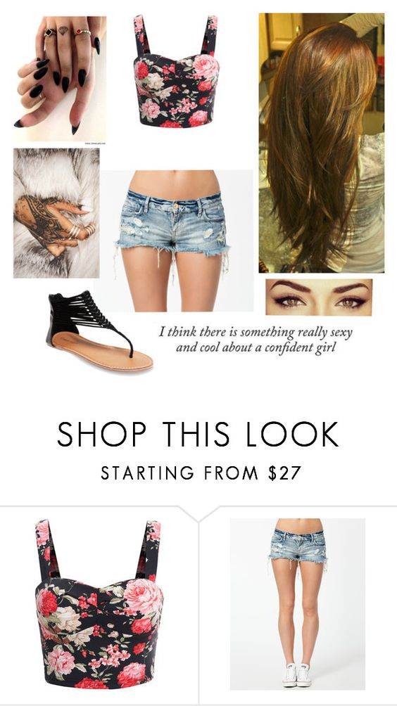 """Untitled #90"" by laurabolovaneanu ❤ liked on Polyvore featuring River Island, Wet Seal and Haze"