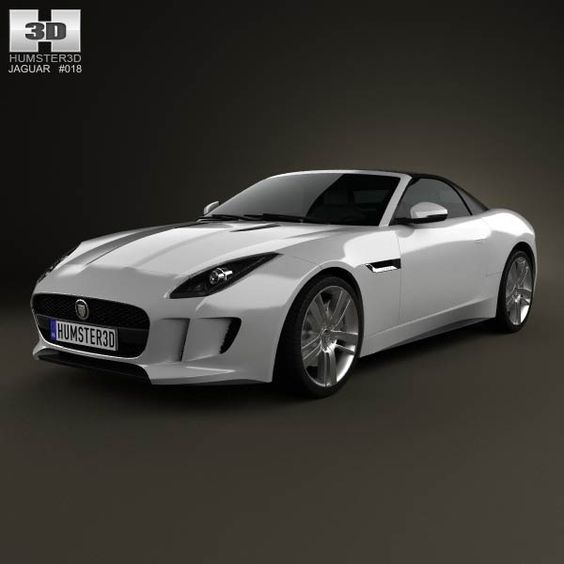 Price Of Jaguar Convertible: Jaguar F-Type S Convertible 2013 3D Model