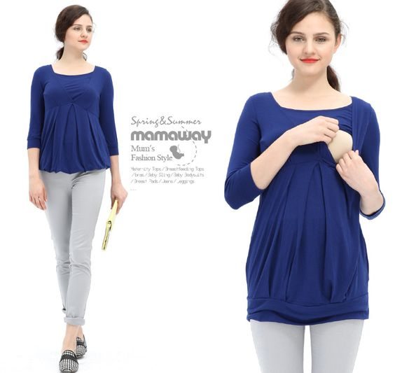 V Neck Tunic Maternity and Breastfeeding To Nomor produk:09651 #Maternitywear #Breastfeedingwear #Nursingwear