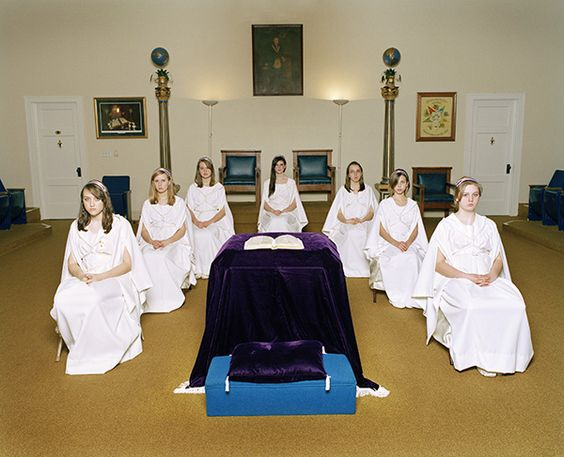 alison malone, from the series 'daughters of job' (job's daughters is a masonic youth organization open only to young girls who are related to master masons)