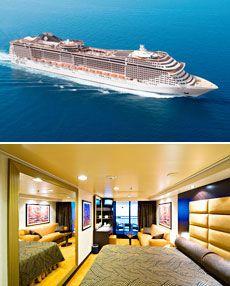 249 € -- Top-Preis für 8-tägige Mittelmeerkreuzfahrt mit MSC