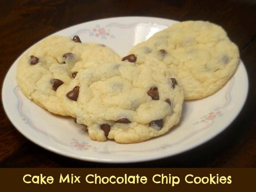Cookies with yellow cake mix recipe