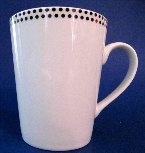 GORDON RAMSAY Everyday Coffee Mug Cup White Porcelain ...