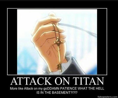 Attack on titan Shingeki no kyojin meme-- me irl