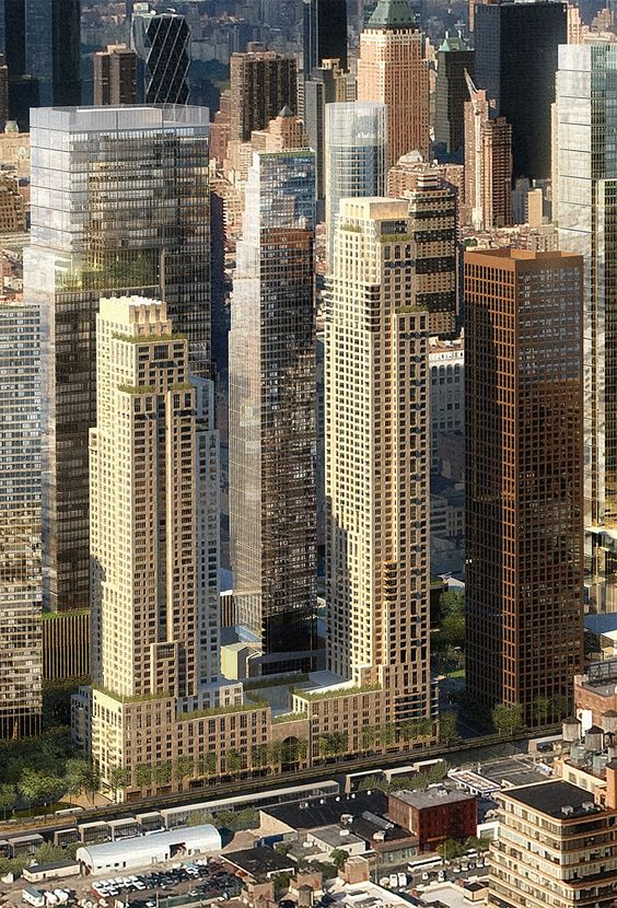 Hudson Yards Development. New York City in 2021, Phase 2.