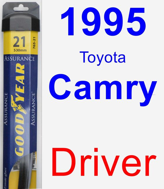 Driver Wiper Blade for 1995 Toyota Camry - Assurance