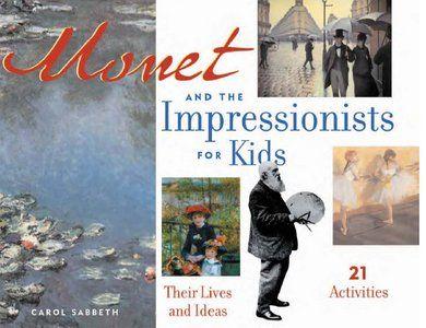 Artist and author shares Monet-inspired art ideas