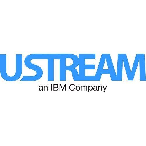 Ustream Logo Ibm Cloud Video Logos Poster Template Brochure