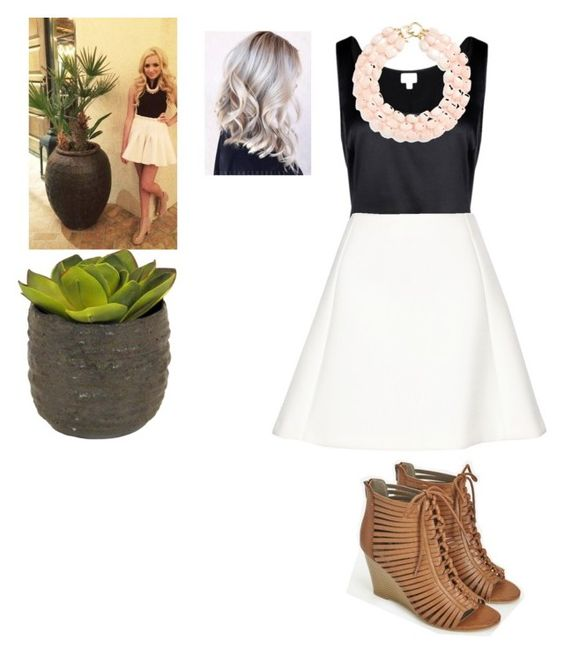 """""""Emma Ross"""" by johannaelyce on Polyvore featuring Armani Collezioni, Neil Barrett, JustFab and Kenneth Jay Lane"""