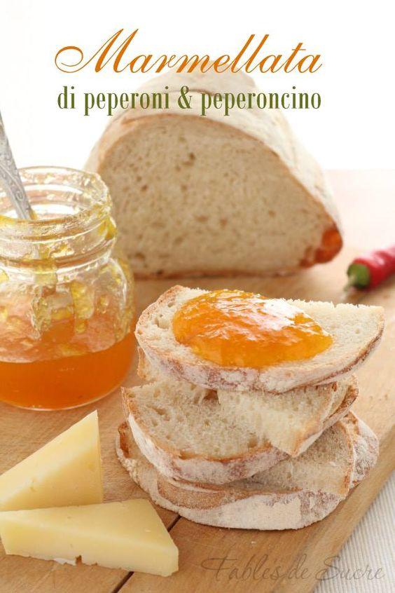 Marmellata di peperoni e peperoncino