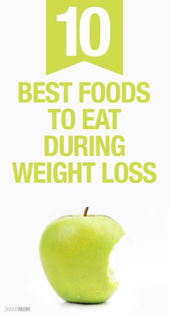 best foods to support weight loss
