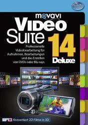 movavi Video Suite 14 Deluxe - Videostudio für Einsteiger und Fortgeschrittene