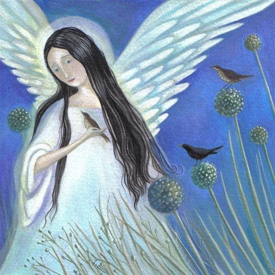 Angel by karendavis on Etsy, £11.00