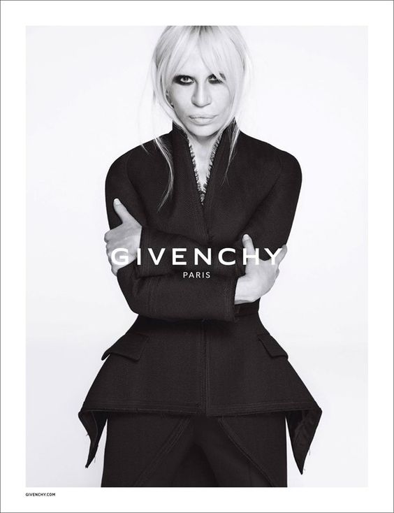 Why Donatella Versace's campaign for Givenchy is a big deal: http://www.dazeddigital.com/fashion/article/25234/1/why-donatella-versace-s-campaign-for-givenchy-is-a-big-deal