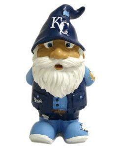 Kansas City Royals Garden Gnome - 8 Stumpy (backorder)