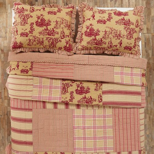 Found it at Wayfair - Elaine Toile Quilt Collection