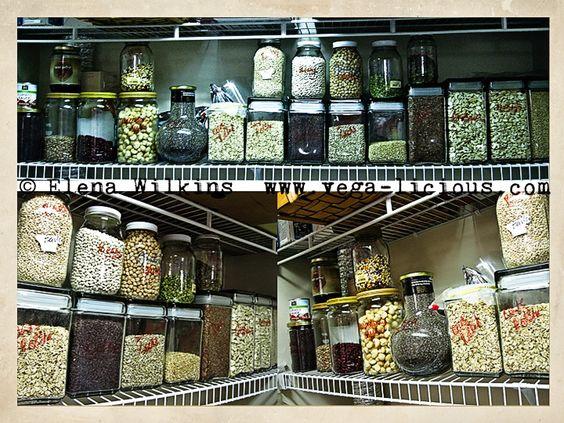 vegan pantry