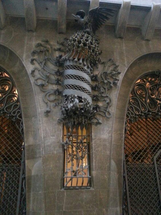 Palau Güell. Antoni Gaudi. Barcelona, Spain. 1886-8 ...