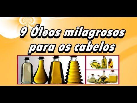 9 Óleos Milagrosos para os Cabelos - Evitam Caspa Pontas Duplas Frizz  h...