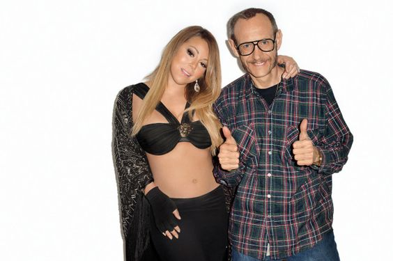 Terry Richardson's Before-And-After Photoshop Pics Of Mariah Carey Are Striking