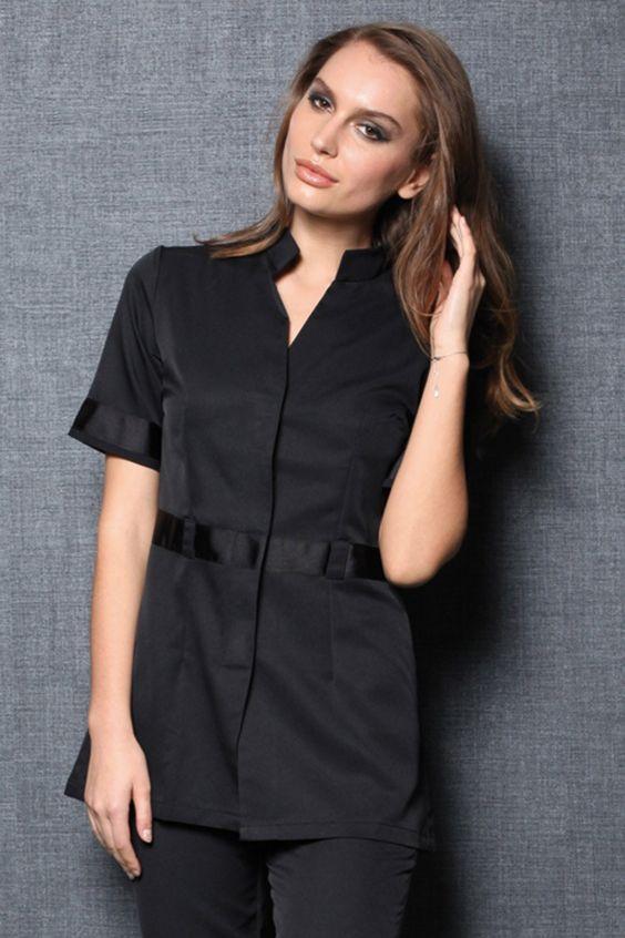 Tunique SAVANE noir - Femme professionnelles Principale - Vêtements…