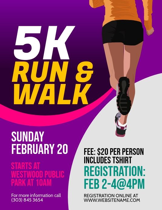 Create The Perfect Design By Customizing Easy To Use Templates In Minutes Easily Convert Your Image Designs Int In 2021 Running Posters Running 5k Event Poster Design