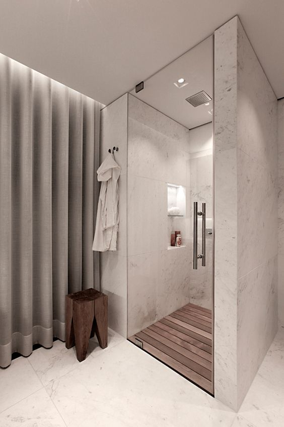 Studioe2 Design The Interior Of A Home In Turkey, Featuring Marble, Wood, Concrete And Metal