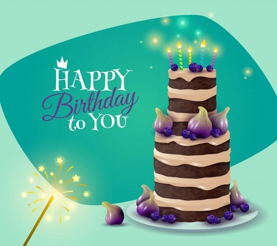 Birthday Cake Card Free Vector Free Vector Freepik Freevector Background Flyer Poster Business Birthday Cake Card Birthday Card With Name Cake Card