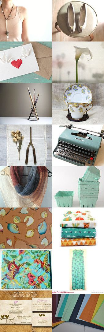 Vintage Summer Style  by HuffArtStudio on Etsy--Pinned with TreasuryPin.com