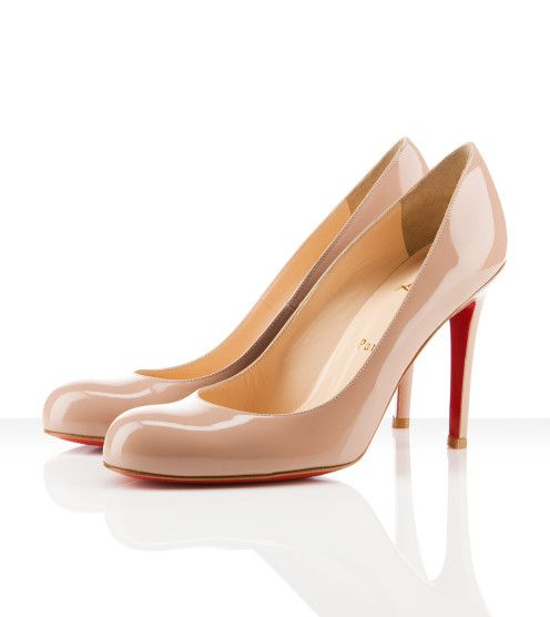 Christian Louboutin   Simple Pump 100mm NUDE