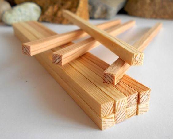 Miniature Lumber Beams 5 5 Mm 100 Psc 6 Inch Long 1 12 Pine Woodworking Supplies Miniature Wo Woodworking Diy Woodworking Supplies Wooden Beams Miniatures