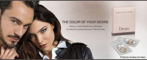 Vinci Desìo Lens - La rivoluzione delle lenti a contatto colorate ~ Diemme makeup