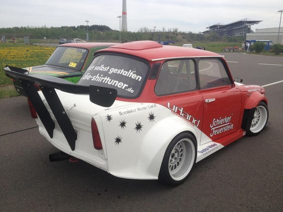 Trabant With A mid-engine Honda H22 motor