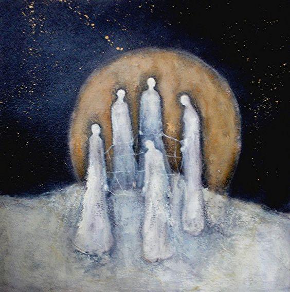The Weavers by Jeanie Tomanek: