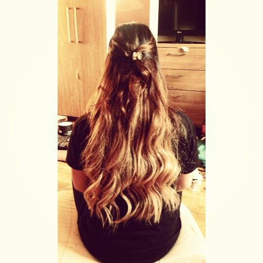 Coloured my hair. Ombre look blonde
