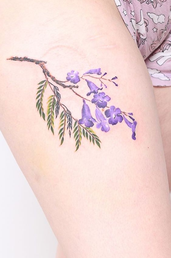 Valeria Fukunaga Flower Tattoo Tattoos Small Tattoos Flower Tattoo