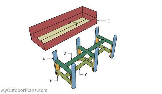 Building a waist high raised garden bed outdoor - Waist high raised garden bed plans ...