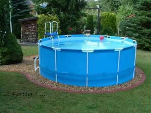 Pool Bestway Steel Pro Frame Pool 366 X 122 Youtube In 2020 Pool Backyard Pool Outdoor Pool
