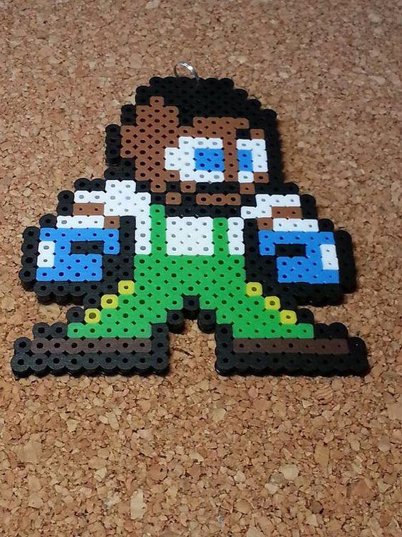 Dudley // Bead Sprite // Street Fighter por DCBPerlerSprites, $10.00