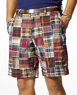 Men's Madras Print Shorts | Preppy Men | Pinterest | Print shorts ...