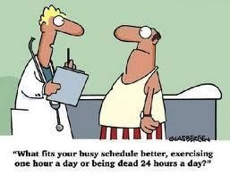 Make time for health
