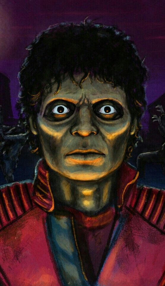 How to Draw Michael Jackson Thriller, Thriller Michael